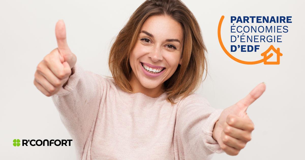 Partenariat EDF et double prime coup de pouce pour l'installation de votre pompe à chaleur
