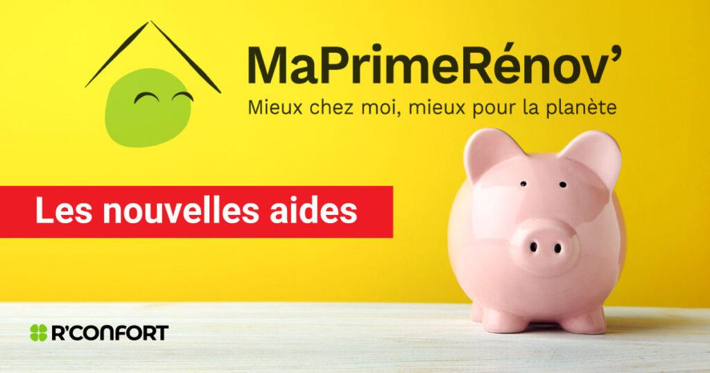 Nouvelles mesures MaPrimeRénov pour l'aide à la rénovation énergétique